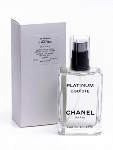 Chanel Egoiste Platinum Тоалетна вода тестер за мъже 100 мл.- внос Дубай.